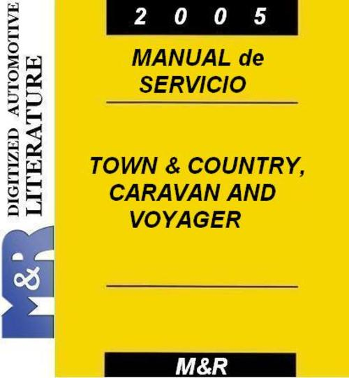 2005 chrysler town and country manual