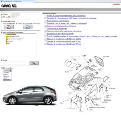 manual del taller honda civic 2006 2010 5 puertas descargar t eac rh tradebit es Honda CR-V Owners Manual Riced Out Honda
