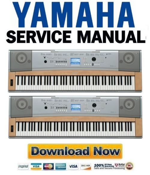 yamaha dgx 620 ypg 625 manual de servicio descargar