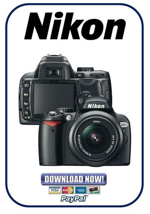 Nikon D60 Manual De Servicio
