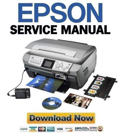 Epson Stylus Cx7800 Repair Manual
