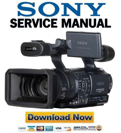 sony hdr fx1 fx1e manual de servicio descargar t cnicos rh tradebit es Sony Professional Camcorders Camcorder Sony FX 1