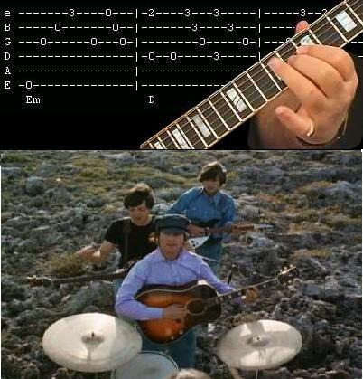 letras y acordes the beatles: