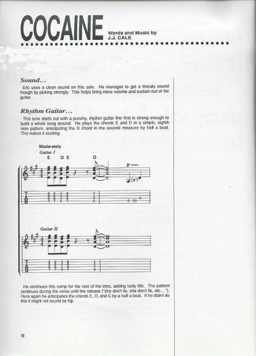 Eric Clapton - Best of Eric Clapton Sheet Music (Songbook) - Descar...